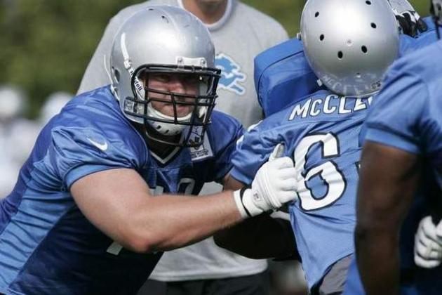 Lions Have High Hopes for OL Jason Fox Next Season