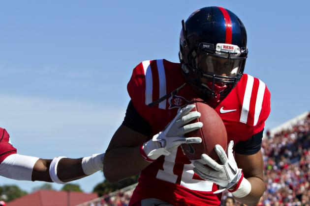 Ole Miss WR Donte Moncrief