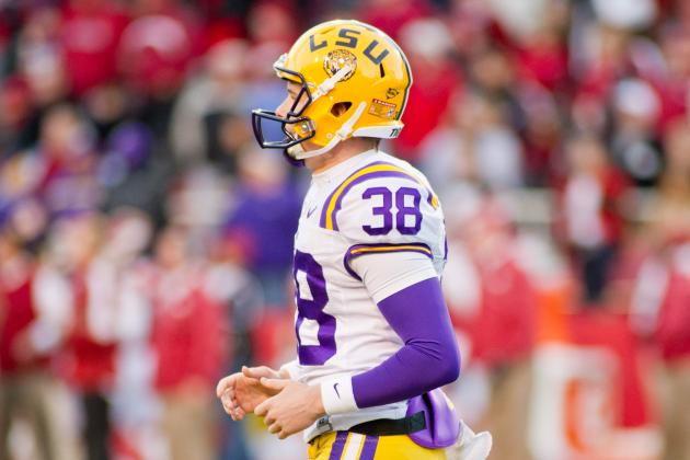 LSU Football: Punter Brad Wing's Suspension Is Kind of a Big Deal