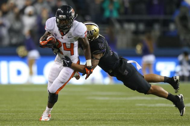 Beavers Take Improved Running Game to Texas