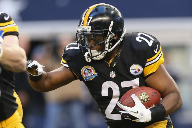 Steelers' Running Backs Want More Carries