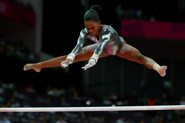 Gabby Douglas Wins 2012 Olympic Women's Gymnastics All-Around Gold Medal