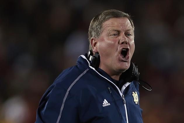 Brian Kelly Not Among Six Bryant Award Finalists