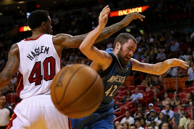 Kevin Love Says Timberwolves Have to Be More Physical After Loss to Heat