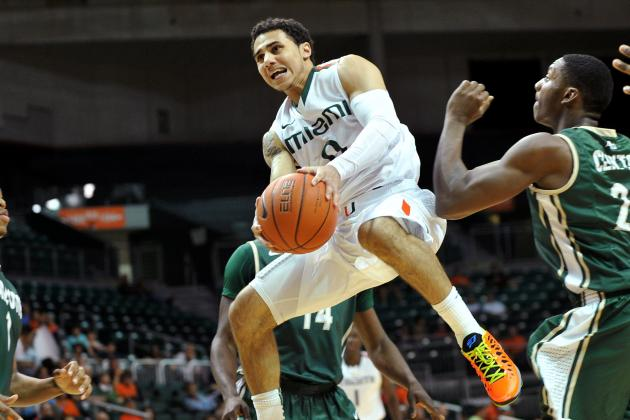 UM Canes Point Guard Shane Larkin Named to Bob Cousy Award Watch List