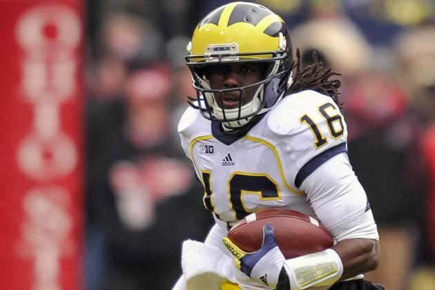 How the Michigan Wolverines Should Utilize Denard Robinson in the Outback Bowl