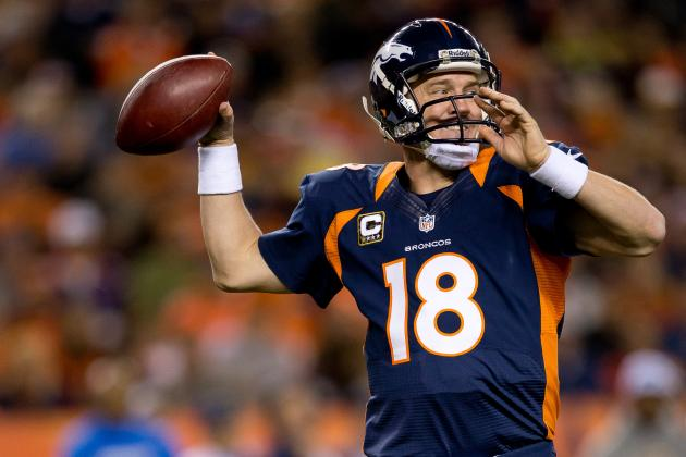 Broncos' Manning Tops Fans' Votes for Pro Bowl
