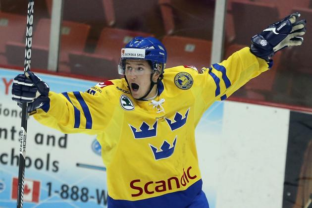 Washington Capitals Prospect Filip Forsberg Named Swedish World Junior Captain