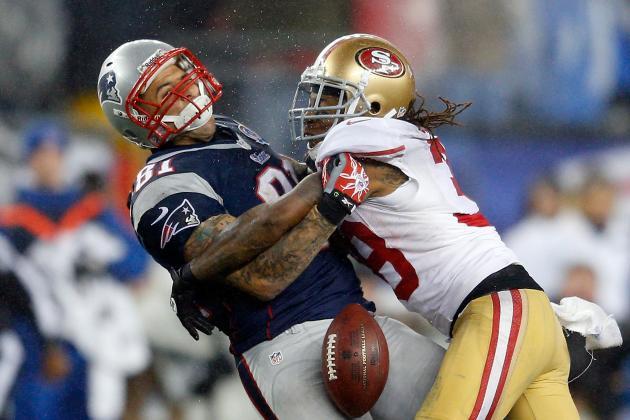 Dashon Goldson Fined $21K for Hit on Aaron Hernandez