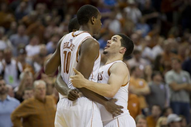 Texas Feeds Off Atmosphere to Produce `Team Win' Against UNC