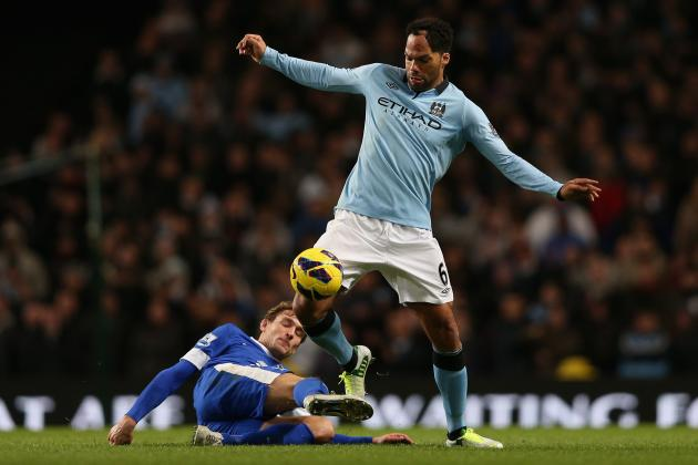 Manchester City's Joleon Lescott on Brink of Everton Return