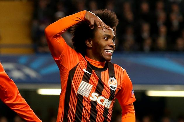 Shakhtar Donetsk Forward Willian Wanted to Join Chelsea over the Summer