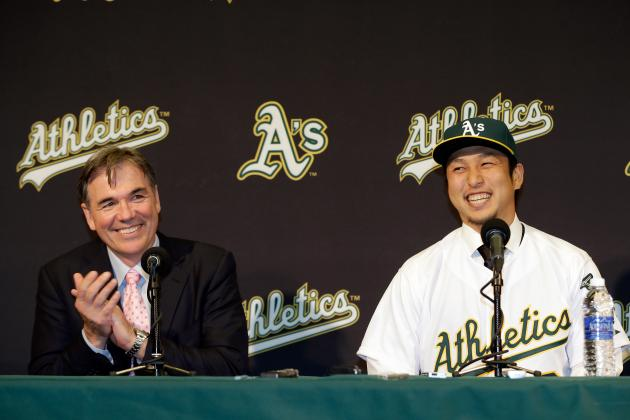 Hiro's Welcome: A's Introduce Popular Nakajima
