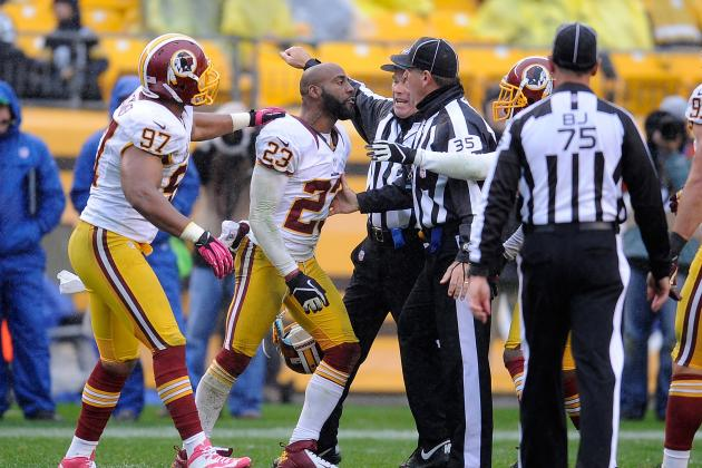 DeAngelo Hall: I Didn't Make Death Threat to Referee