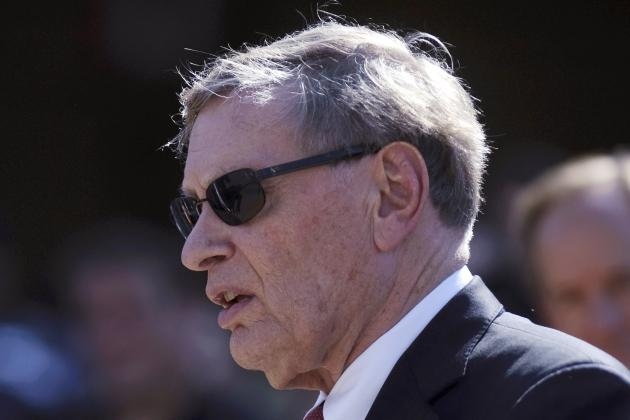 MLB Commissioner Bud Selig Hints at Finally Retiring After 2014 Season