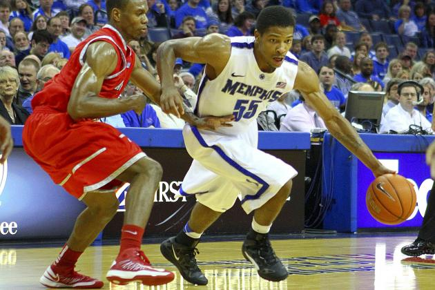 Memphis Tigers' Bench Stepping Forward When Called Upon