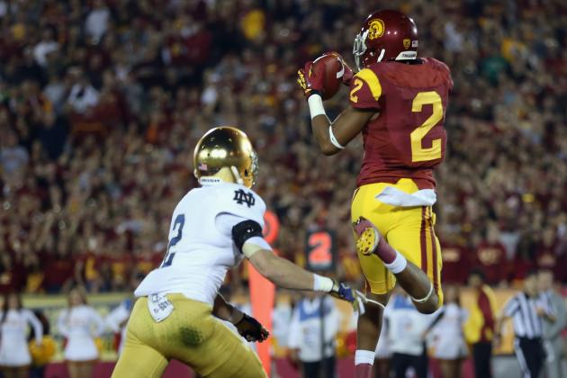 USC WR Robert Woods Considering Jump to NFL
