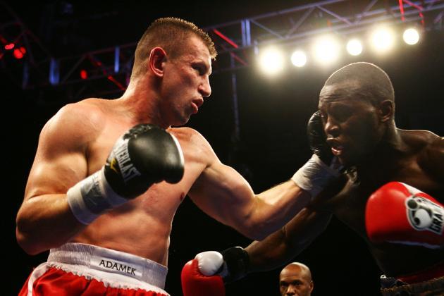 Tomasz Adamek vs. Steve Cunningham: Fight Time, Date, TV Info and More