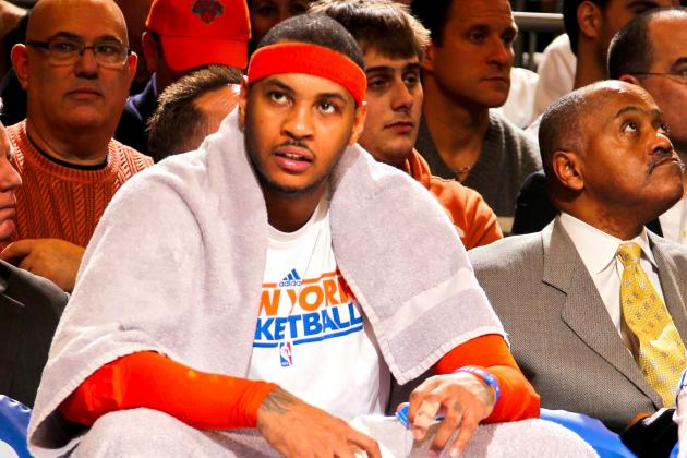 Why Carmelo Anthony's Numbers Don't Validate MVP Chatter