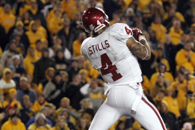 Oklahoma WR Kenny Stills to Auction off Gloves for Newtown Shooting Victims