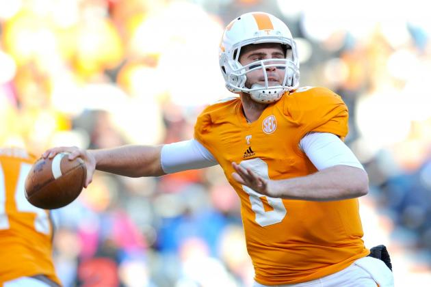 Tennessee QB Tyler Bray Reportedly Set to Enter NFL Draft