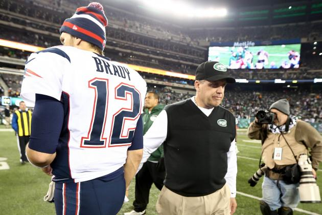 Rex Defers Comment on Vick, but Not on Brady