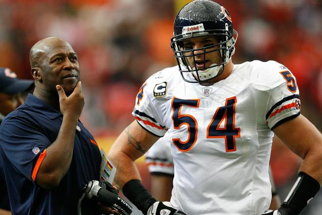 Lovie Backs Urlacher: He Cares About Fans