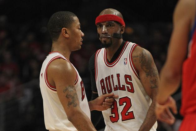 Richard Hamilton Trade Rumors Signal Bulls Thinking About Derrick Rose's Future