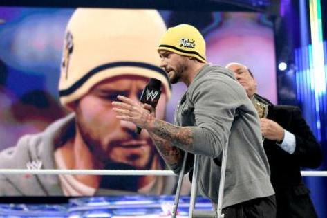 CM Punk's Injury Is a Much-Needed Break for Him from WWE