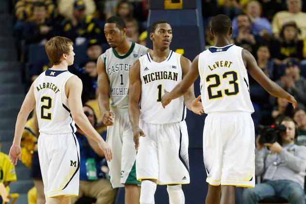 No. 2 Michigan Races Past Eastern Michigan