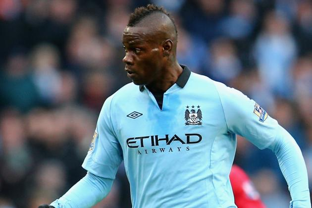 Mancini Promises to Give Bad Boy Balotelli a Second Chance at City