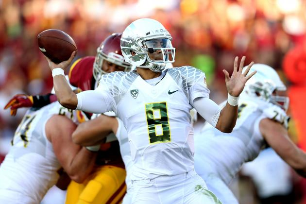 Oregon Football: Why Oregon's Offense Will Become More Balanced in 2013