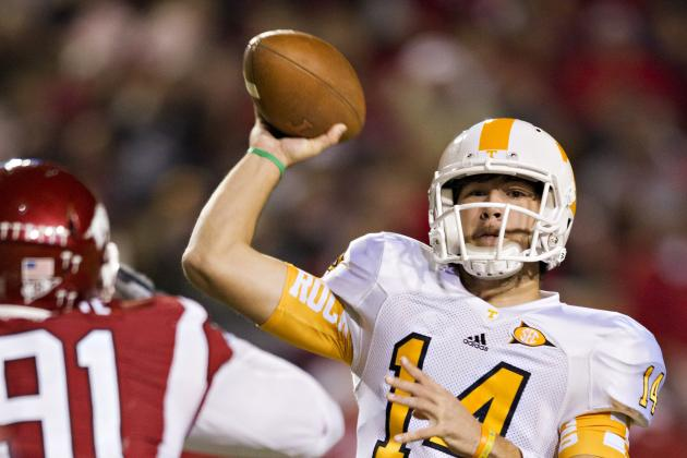 Tennessee Football: Who Are Tyler Bray's Possible Replacements at Quarterback?