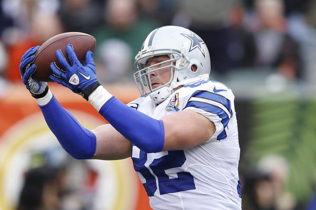 Cowboys' Witten Closing in on NFL Record for Tight Ends