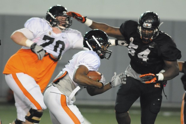 OSU Football: Younger Players Get Extra Practice Time