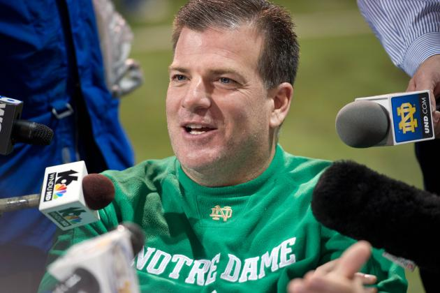 Notre Dame DC Martin Sizes Up Tide D: 'They Don't Give Up Squat Running It'