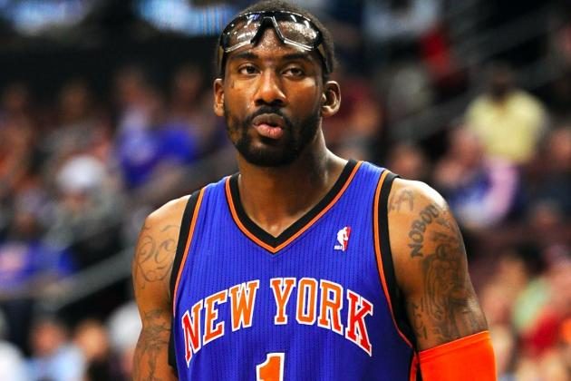 New York Knicks Reportedly Tried to Trade Amar'e Stoudemire to Several Teams