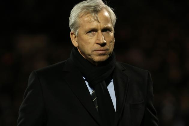 Pardew Wants Three January Buys