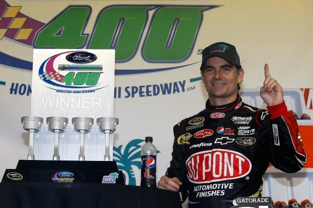 Gordon Wins but 2012 Season Filled with Frustration