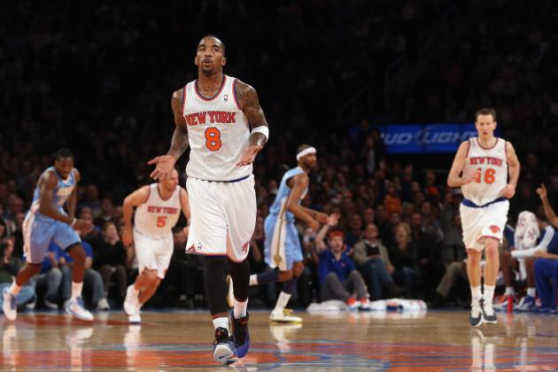 Knicks' Smith Finally Finds His Shot