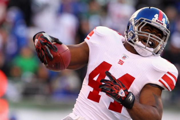 Giants' Justin Tuck Not Practicing; Ahmad Bradshaw Returns to Practice