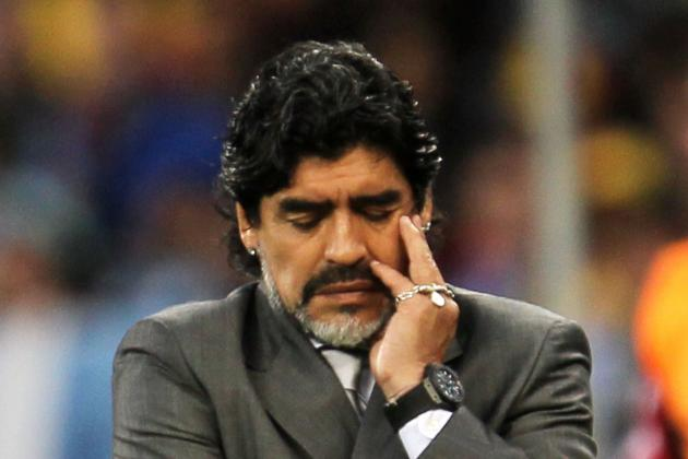 Diego Maradona Is Risking His Legacy with Chequered Coaching Career