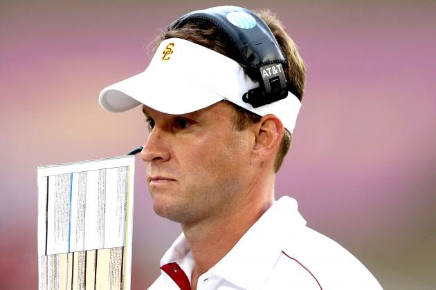 USC Football: Is Lane Kiffin Calling Plays for USC in 2013 a Big Mistake?