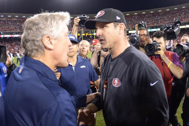Carroll, Harbaugh Share Strategy, If Not Personality