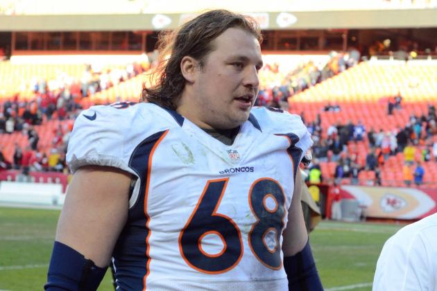 Broncos Guard Zane Beadles Named Team's Walter Payton Man of the Year