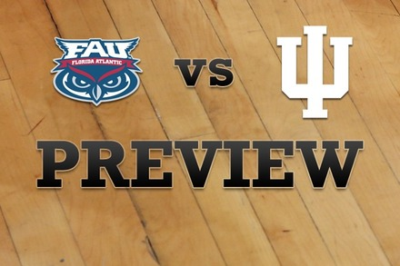 Florida Atlantic vs. Indiana: Full Game Preview