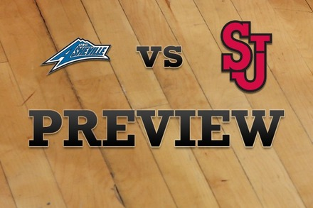 North Carolina-Asheville vs. St John's: Full Game Preview