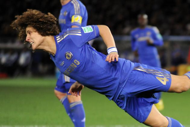 John Terry's Troubles Delay David Luiz's Move into Midfield for Chelsea