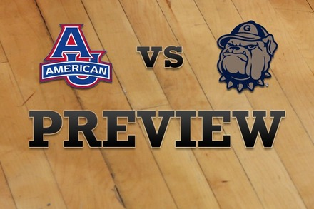American University vs. Georgetown: Full Game Preview