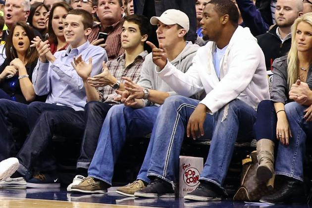 Johnny Manziel: Texas A&M QB's Courtside Seats Should Concern NCAA